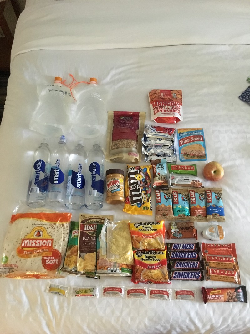 A Thorough Review Of All The Food I Ate On The Pacific Crest Trail