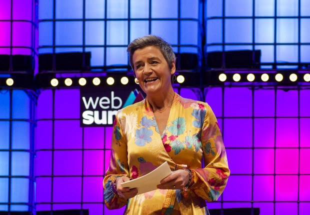 European Commissioner for Competition, Margrethe Vestager, at Web Summit 2018