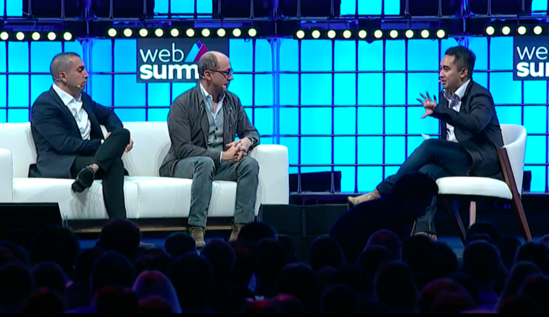Tinder founder Sean Rad and former Twitter CEO Dick Costello have tackled the 'what's in store for the world's biggest social media platforms' topic at Web Summit 2018