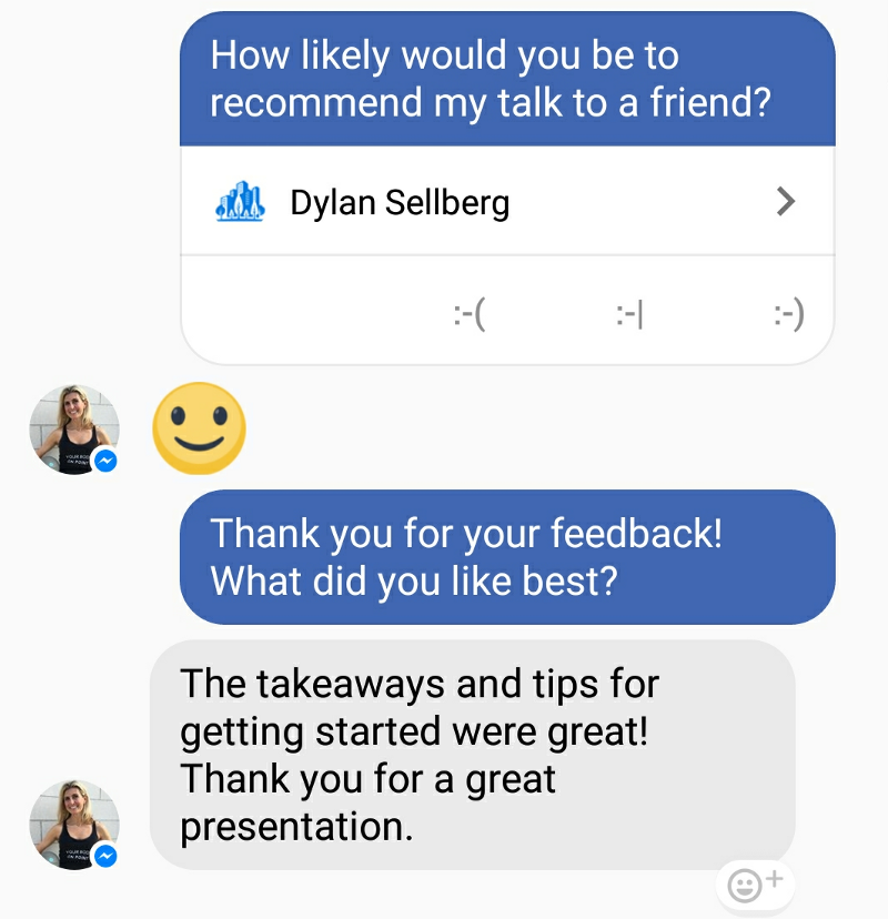 null  Why Every Public Speaker Should be Using Messenger Bots 1 H3UhsIOqITSB5FKGN0s1qw