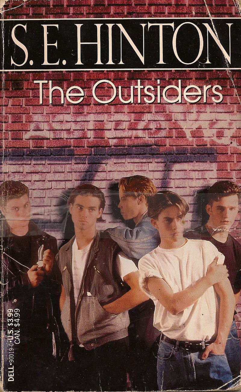 The Outsiders Book Cover Pictures : Fifty years ago a teenager wrote the best selling young