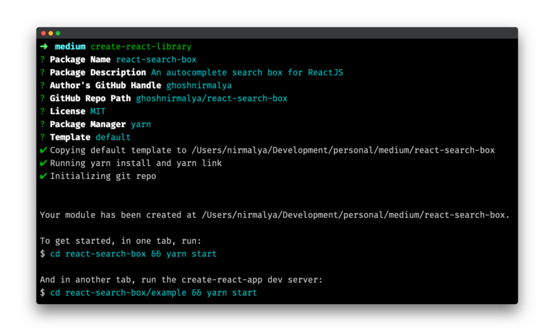 How to write a simple React search plugin, publish it to npm