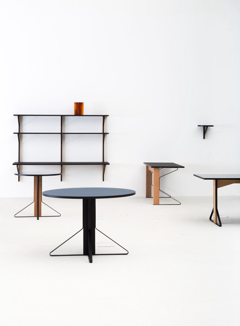 kaari a simple and unique furniture collection by ronan erwan bouroullec. Black Bedroom Furniture Sets. Home Design Ideas