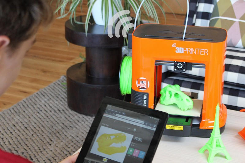 da vinci 3d printer IoT