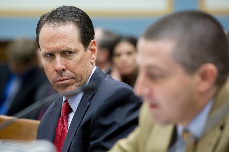 AT&T CEO Randall Stephenson at a 2014 hearing