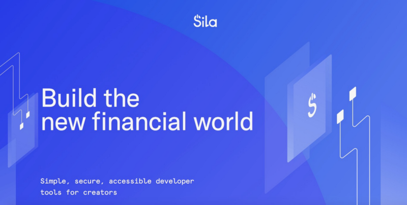 Announcing Sila—building the new financial world —