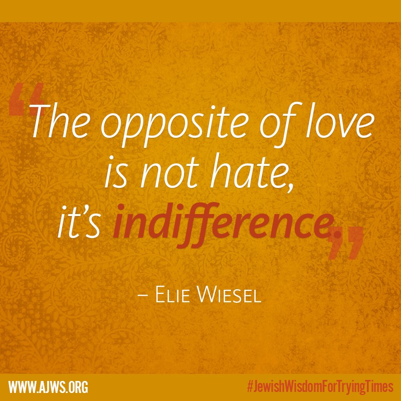 When It Feels Like The Hatred In The World Is Too Heavy To Bear The Words Of Holocaust Survivor Andel Laureate Elie Wiesel Who Was A Founding Board