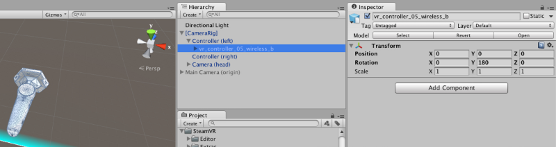 how to gradually change the scale in unity