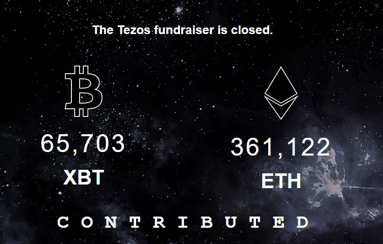 picture of contribution page Tezos