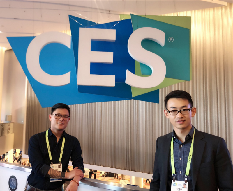 Vite Team at CES