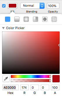 Sketch color picker