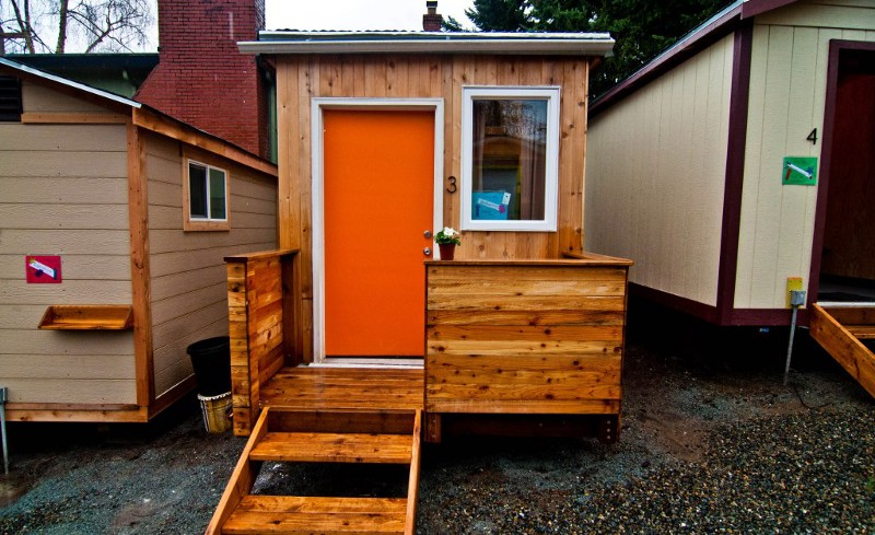 Seattle organization creates tiny home village for the homeless