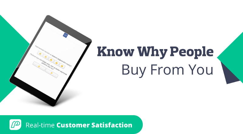 Find Out Why People Buy From You