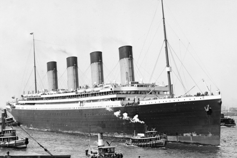The Titanic's sister ship the Olympic was virtually identical