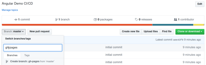Build&Deploy Angular Apps in GitHub Pages using GitHub Actions