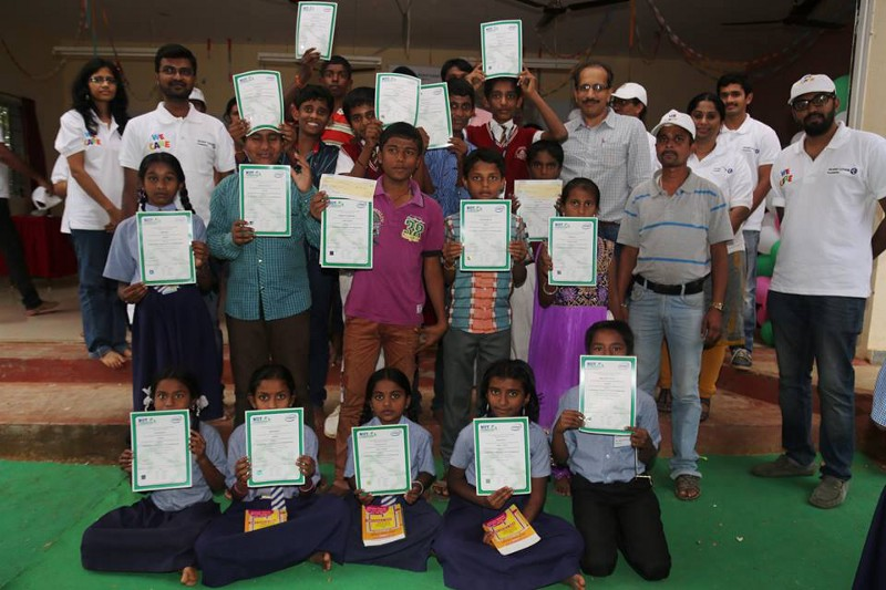 Skilling Young India Certificates generated usingMindScroll platform