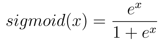 Sigmoid Equation