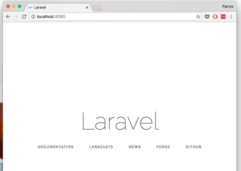 Developing Laravel applications with Docker - Patrick Foh Jr - Medium
