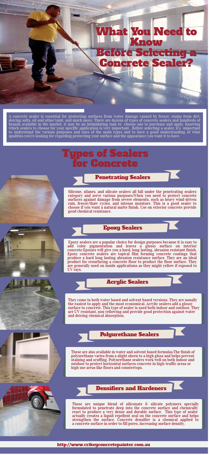 What You Need to Know Before Selecting a Concrete Sealer?