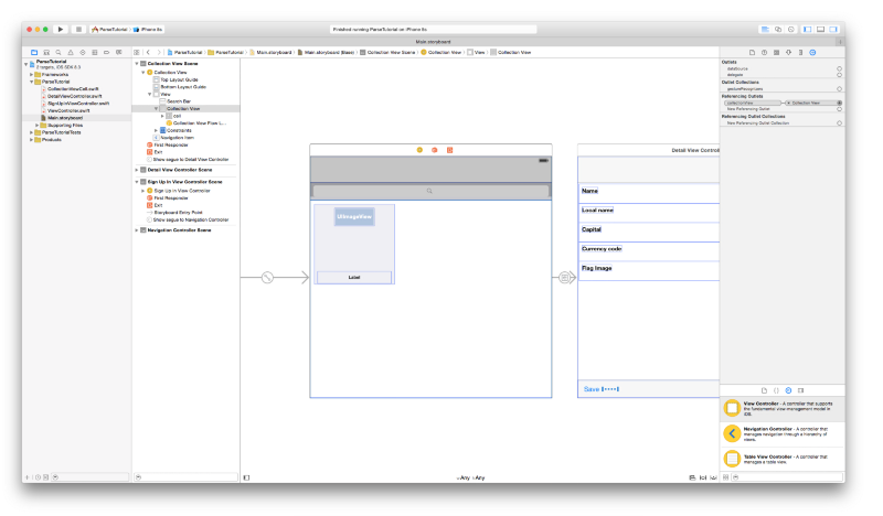 how to create a view object swift 3 ios