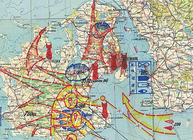 Europes Cold War Nightmare A NATO Vs Warsaw Pact Nuclear War - Map of us intervention global cold war