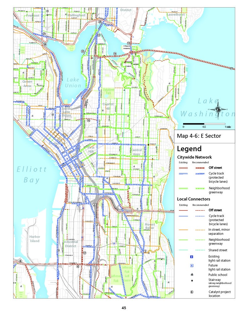 Creating A Great Bike Network Map Alta Planning Design