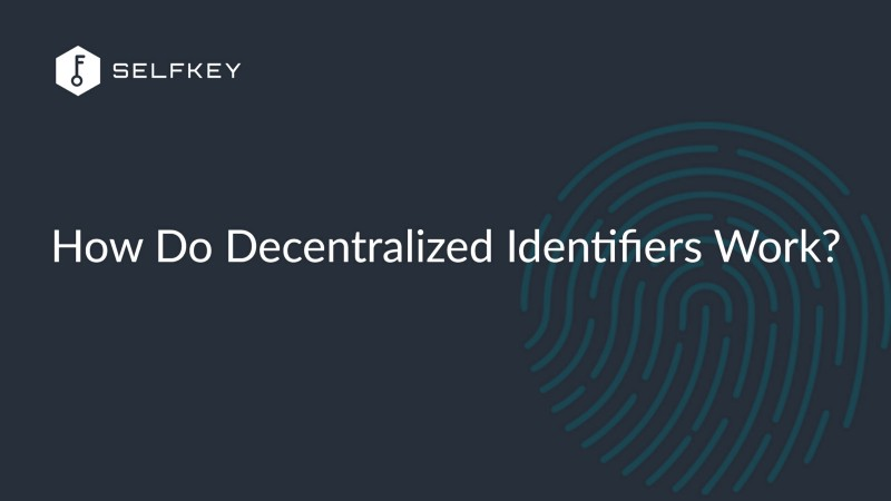 How Do Decentralized Identifiers (DIDs) Work?