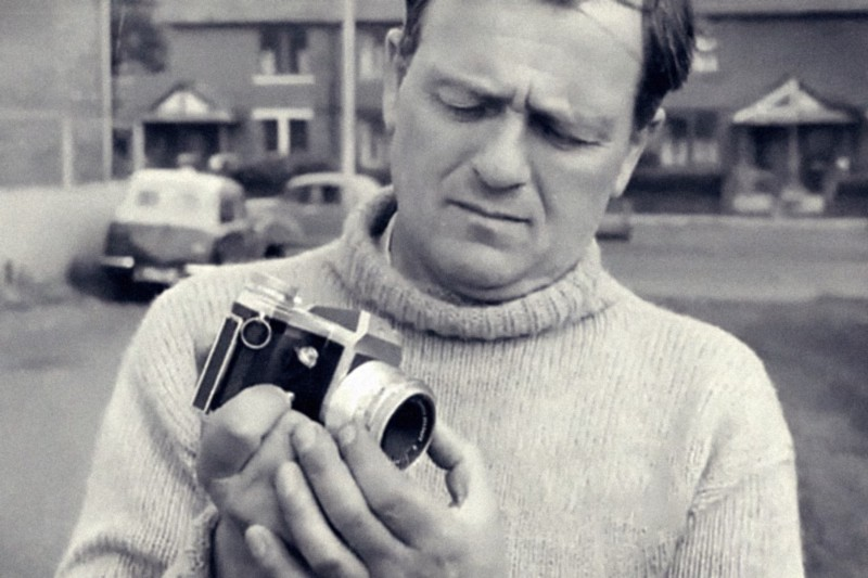 Jim Templeton with his camera