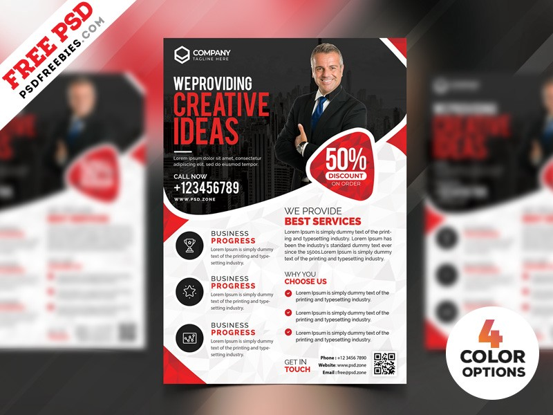 download free business marketing flyer templates psd