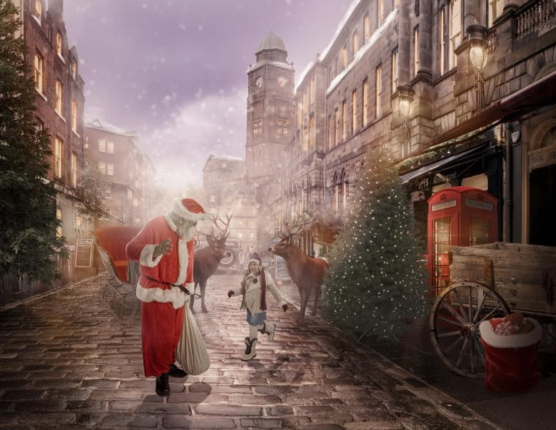 A Santa Shoot Turned Into A Christmas Wonderland For Sick Children Exclusive Behind The Scenes