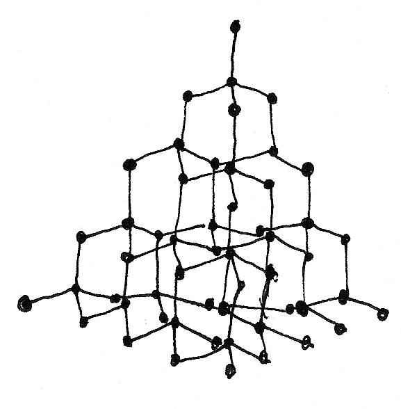 How To Draw Diamond Structure