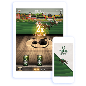 Tuborg Derby game iPhone and iPad