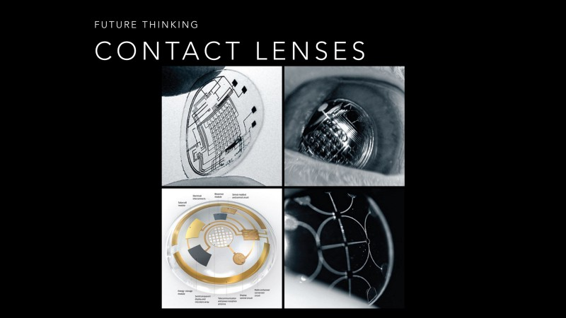 Contact Lenses with Displays Built In