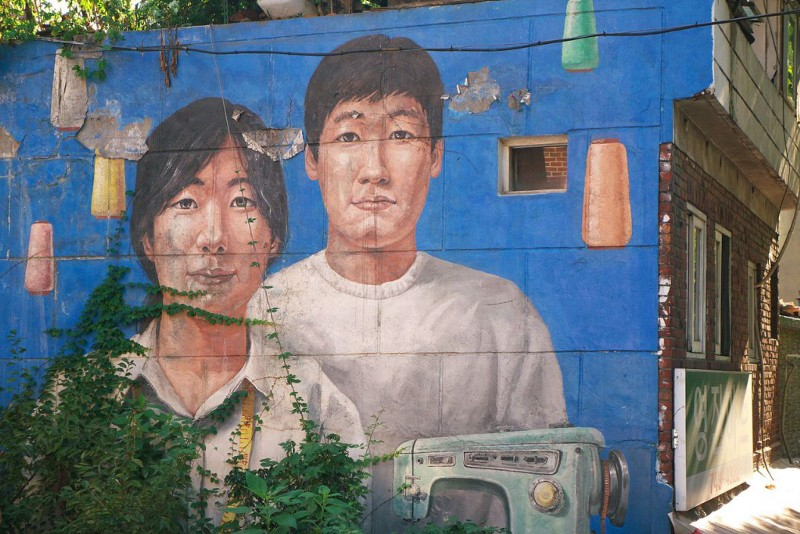 Art work brightens the streets | © travel oriented/wikimedia