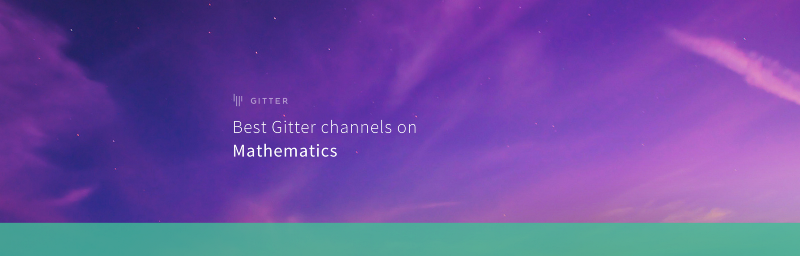 Best Gitter channels: Mathematics