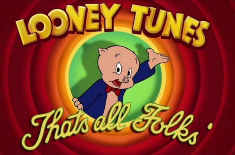 Looney Tunes - Starting Background Image