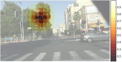 The world through the eyes of a self-driving car