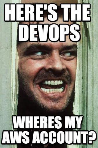 [Here's DEVOPS!](https://www.pinterest.co.uk/pin/9992430407465775/)