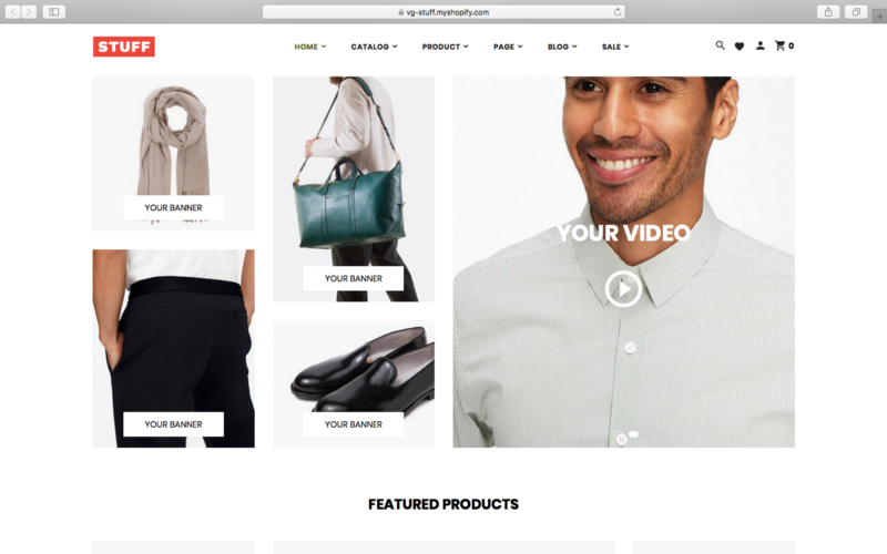 Responsive Shopify Theme example