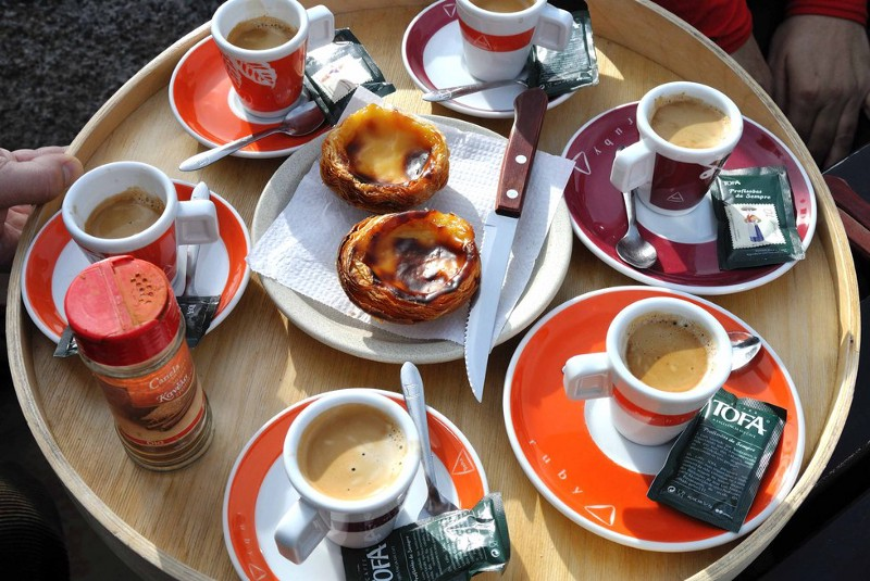 Coffee in Lisbon is the cheapest and the best in Europe