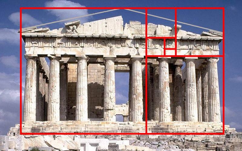Does the golden ratio exist in architecture? : golden-ratio-in-architecture - designwebi.com