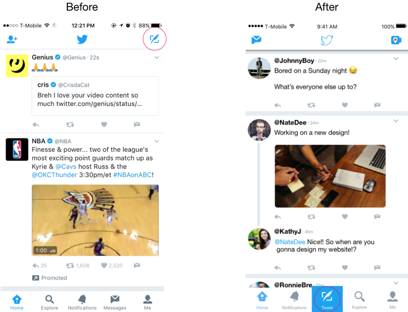So how do we fix Twitter? A user interface revamp would be a good place to start.