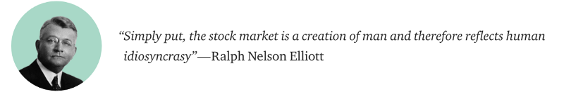 Ralph Nelson Elliot Waves Quote
