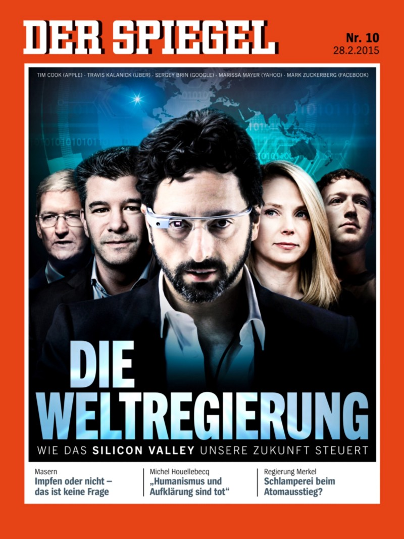 Translated the world government how silicon valley for Spiegel cover 2018