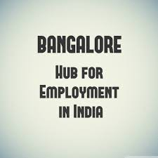 Bangalore, the city with bounteous job opportunities!