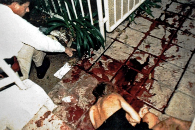 The grisly crime scene demonstrated a great deal of violence on the part of the killer