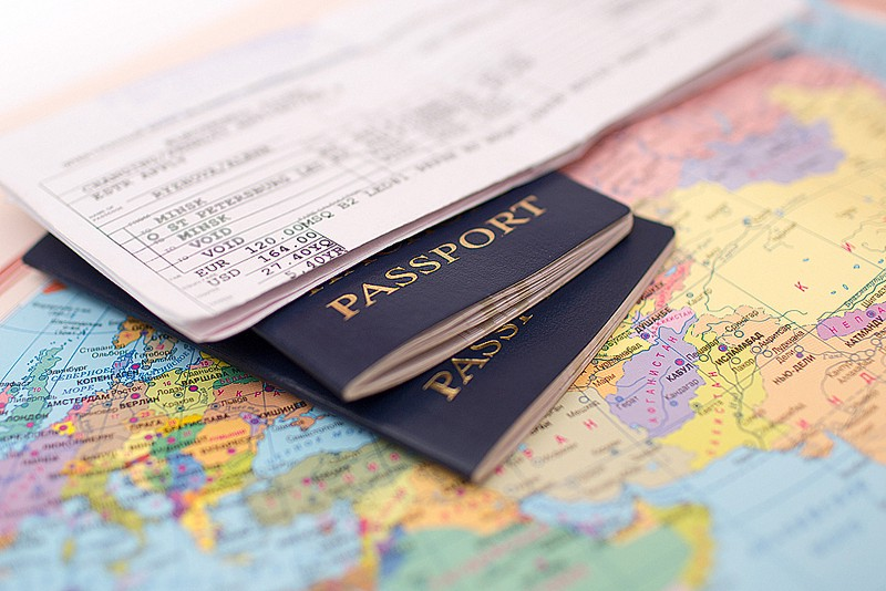 Travel in international events