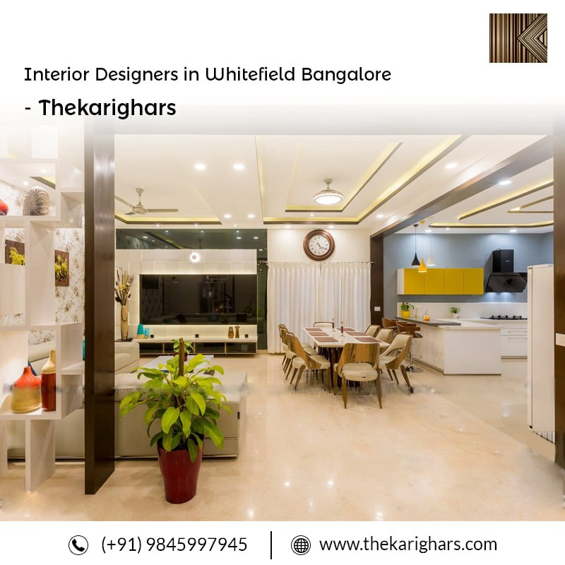 thekarighars are the best interior designers in whitefield bangalore we have quality of materials used best infrastructure of the company designer - Top Rated Interior Designers