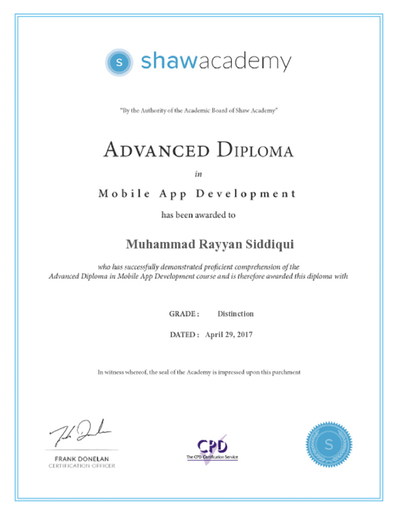 Meet Muhammad Rayyan Siddiqui The Worlds Youngest Certified Android