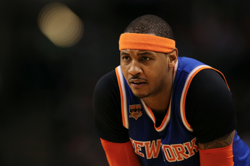 Carmelo Anthony once again suggests he might waive his no-trade clause